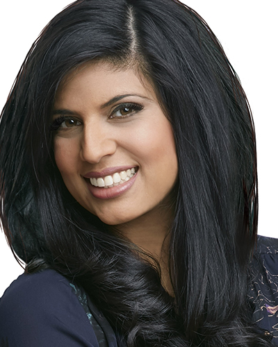 Sonia Sidhu, Host, Mornings with Kevin and Sonia